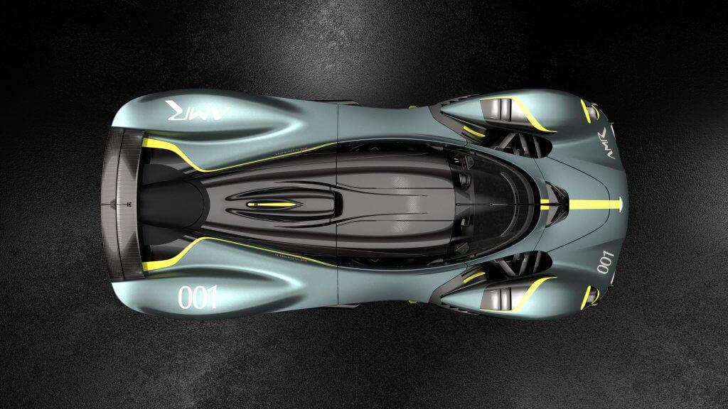 Aston Martin Valkyrie The Options Drivershall